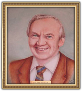 Don (GWW) (1929 - 2004) - Painted by Janet Devlin